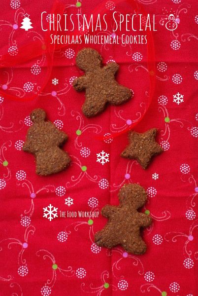 Christmas Special - Speculaas Wholemeal Cookies